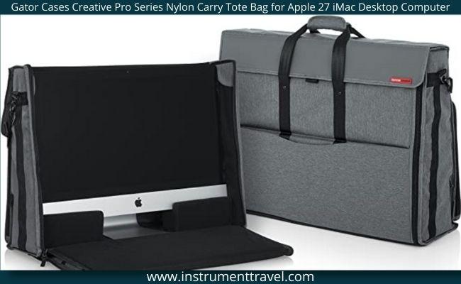 "Gator Cases Creative Pro Series Nylon Carry Tote Bag for Apple 27"" iMac Desktop Computer"