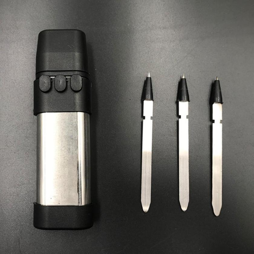 Solid Stainless Dart Launcher Set