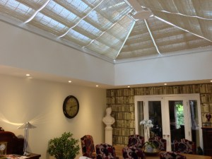 Orangery Roof Blinds