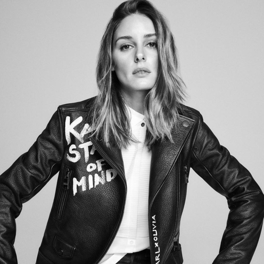 Olivia Palermo revela los primeros looks de su colaboración con Karl Lagerfeld