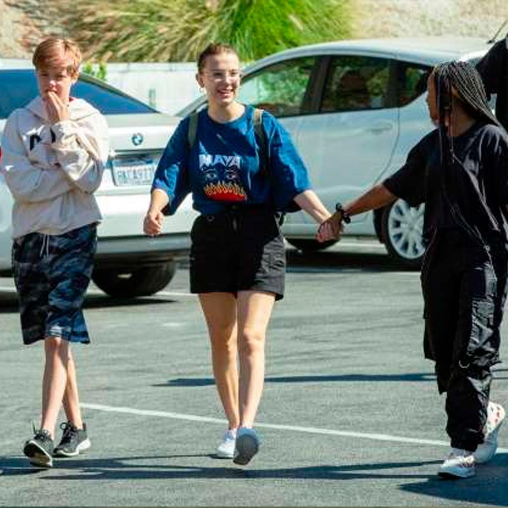 Millie Bobby Brown: la nueva best friend del squad Jolie-Pitt