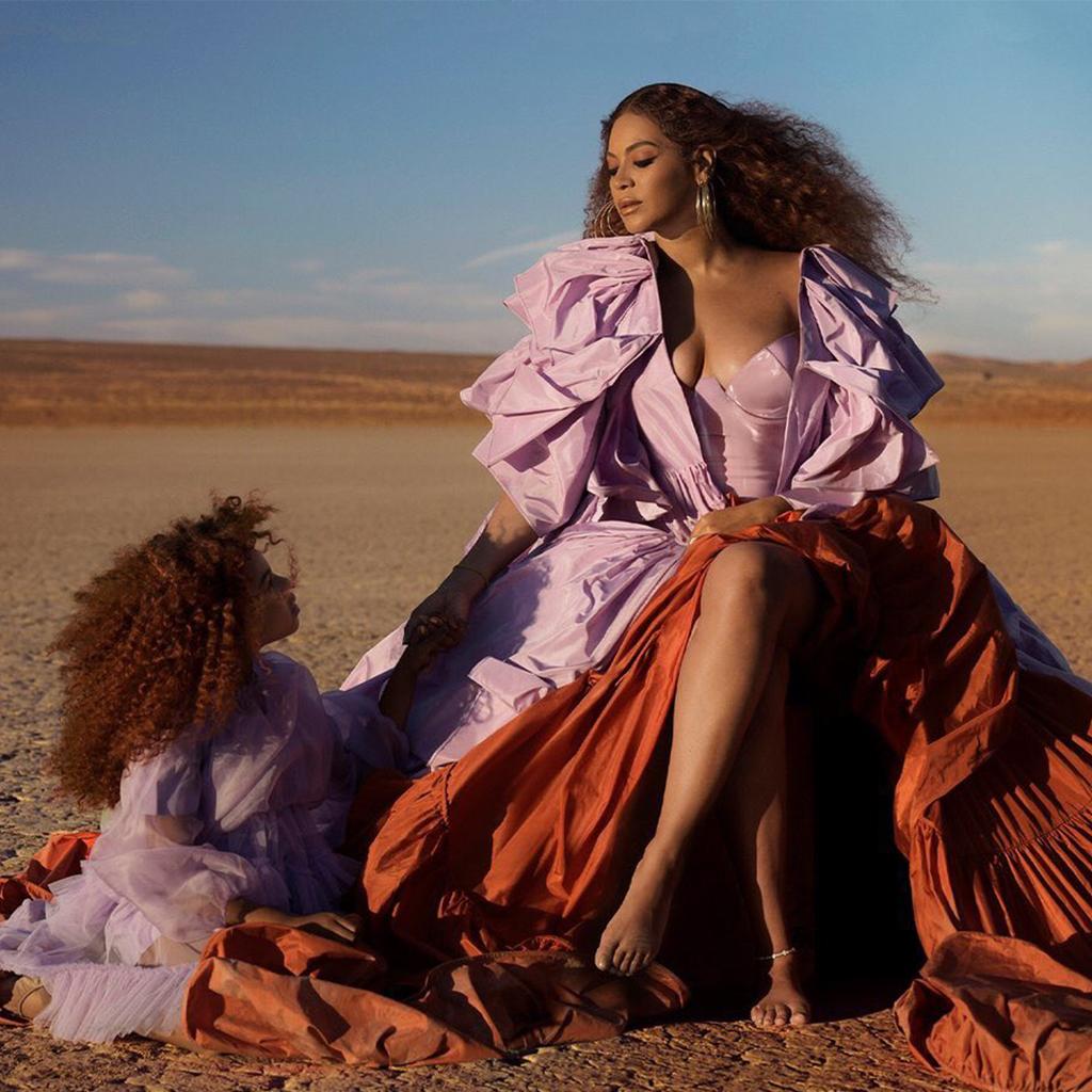 Comper! Blue Ivy Carter canta con Beyoncé un tema de «El Rey León»