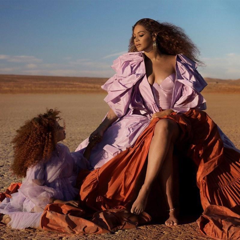 """Comper! Blue Ivy Carter canta con Beyoncé un tema de """"El Rey León"""""""