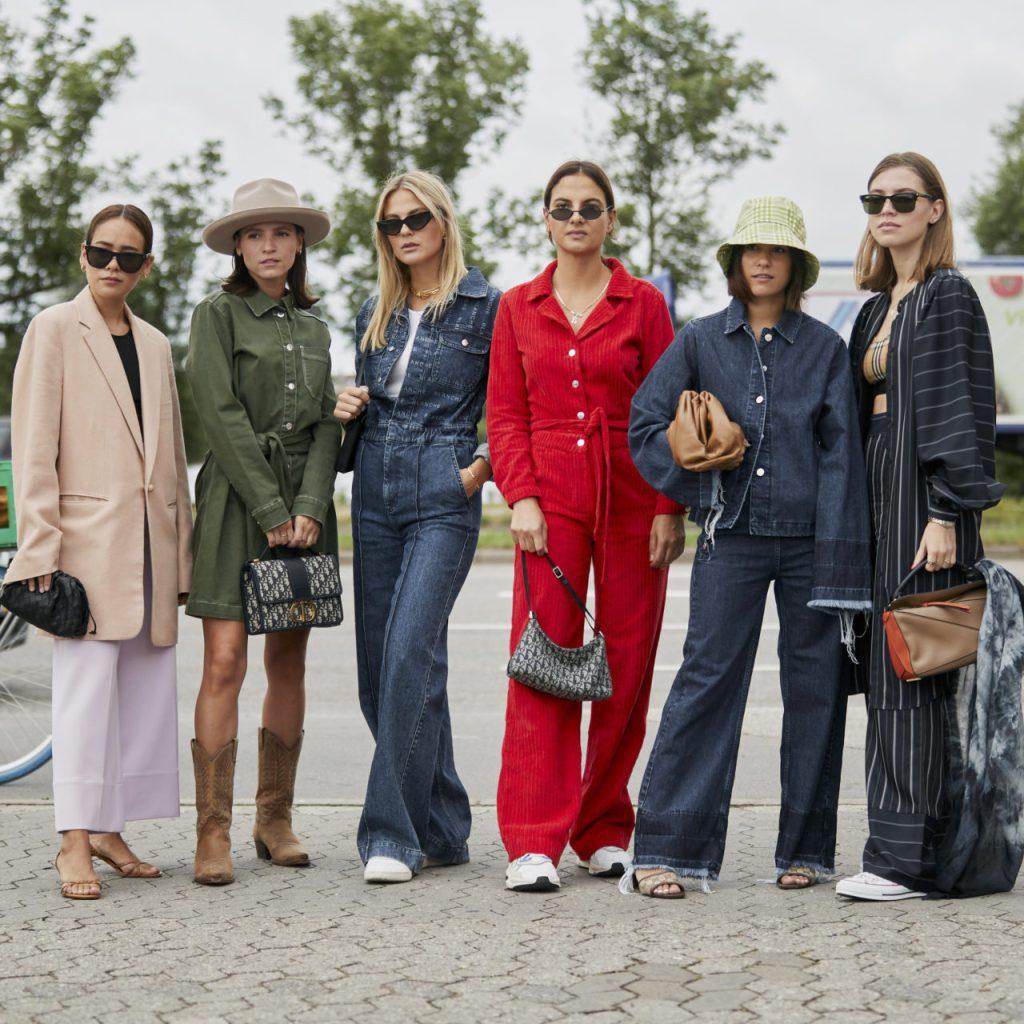 Los looks más cool de street style de Copenhague Fashion Week
