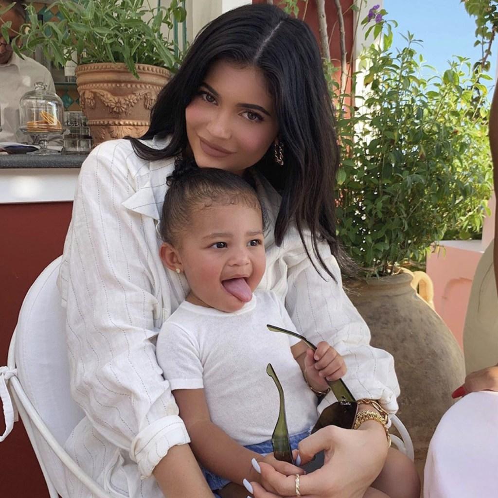 Kylie Jenner y Stormi tuvieron el momento más lindo en el show de Ellen