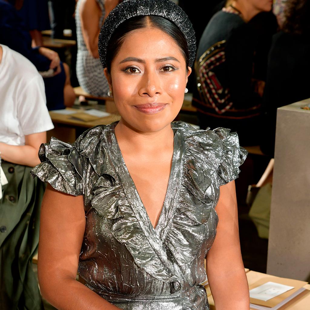 Yalitza Aparicio nos dio las claves de cómo brillar en su primer front row