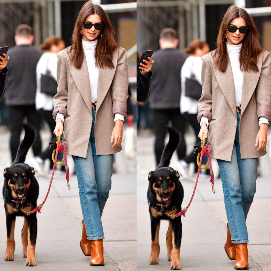 Las botas otoñales favoritas de Em Rata son de Zara