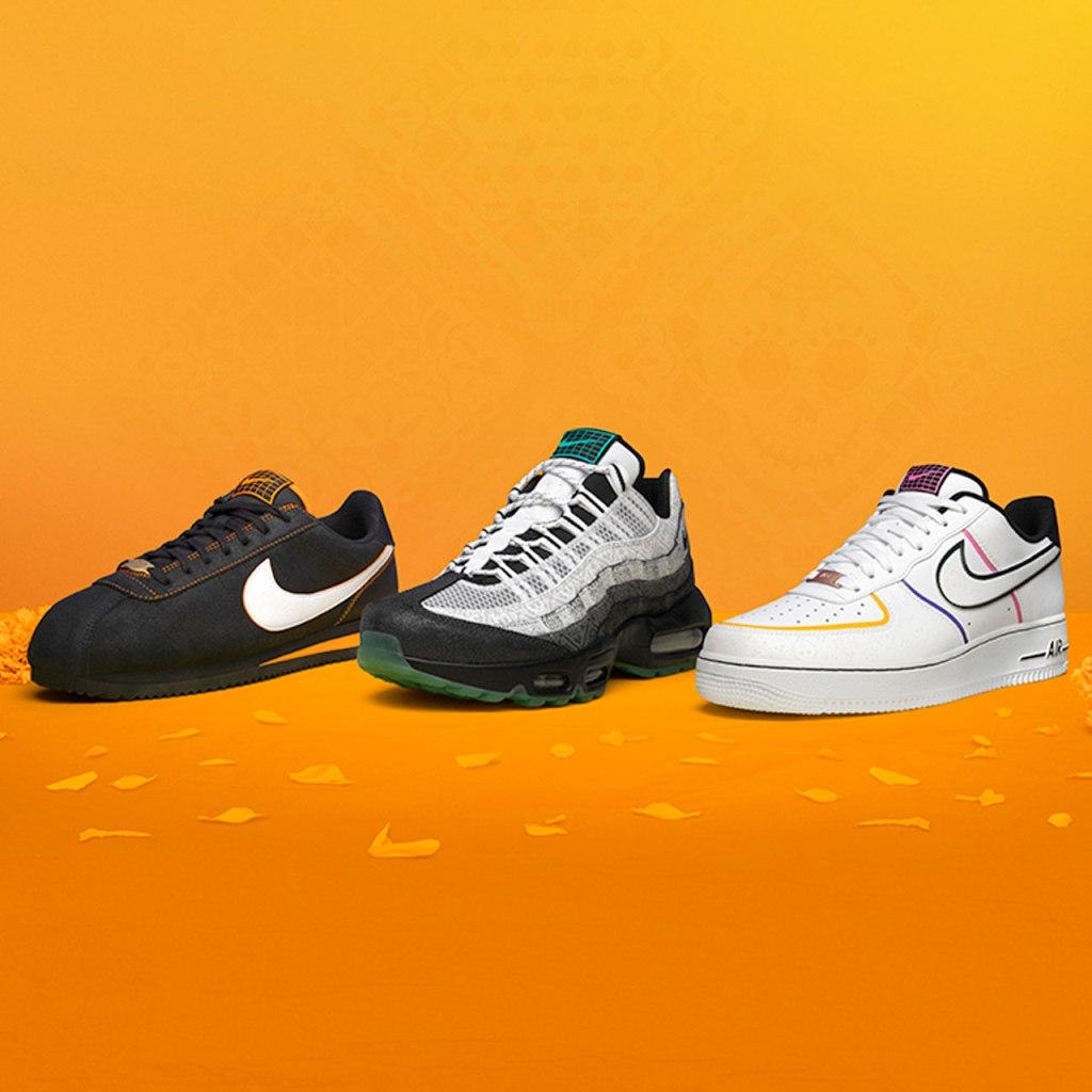 Nike se inspira en el Día de Muertos para crear esta colección