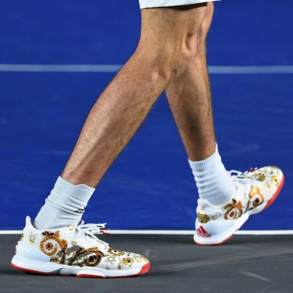 Los tenis 'mexicanos' que usó Alexander Zverev en su partido en la CDMX