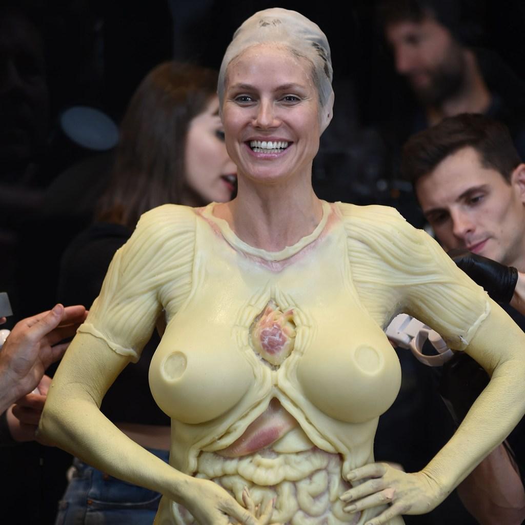El último disfraz de Heidi Klum es el más exagerado hasta el momento