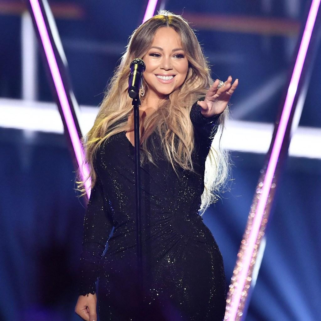 Mariah Carey recibió la temporada navideña como solo ella sabe hacerlo