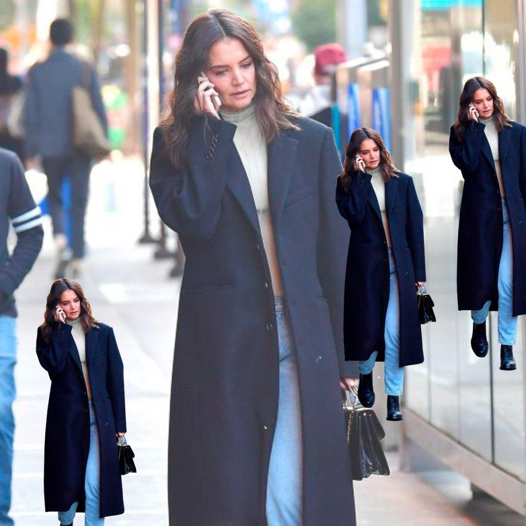 Katie Holmes, la influencer de moda (que sin quererlo) ya todas siguen