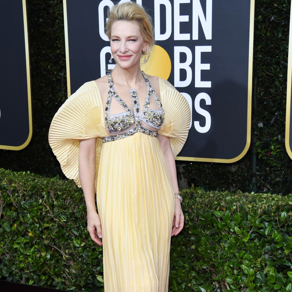 La tendencia de los Golden Globes: las puffy sleeves