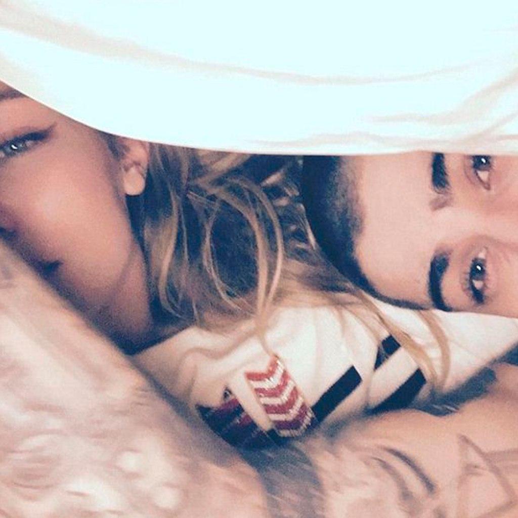 Gigi Hadid acaba de publicar una foto de su Valentine: Zayn Malik