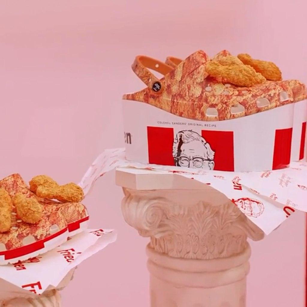 KFC y Crocs lanzan un modelo en colaboración (y no, no es broma)