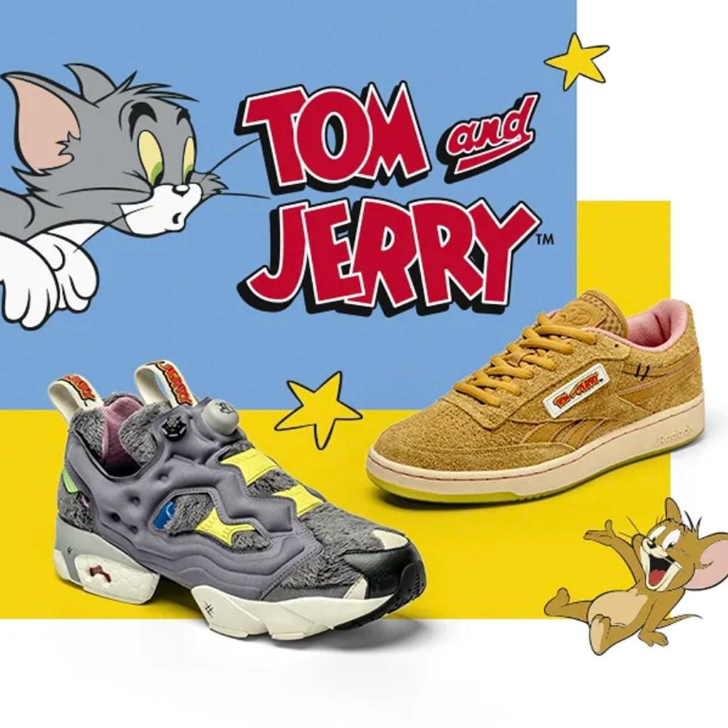Tom & Jerry llega a la nueva colección de Reebok