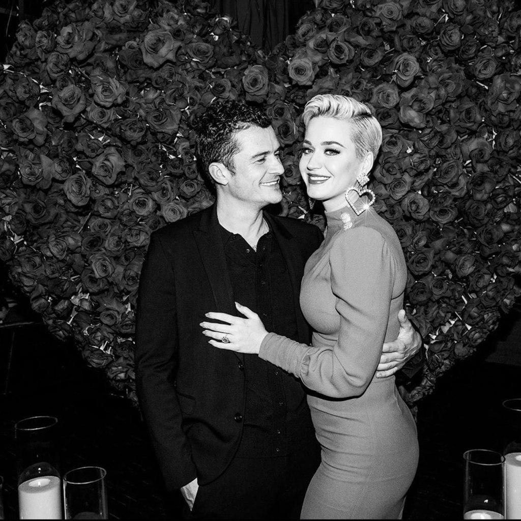 La tierna foto del gender reveal de Katy Perry y Orlando Bloom
