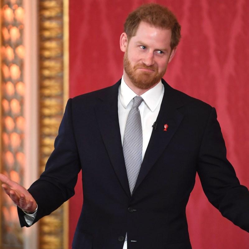 El antiguo nombre de Instagram del príncipe Harry dice mucho sobre él