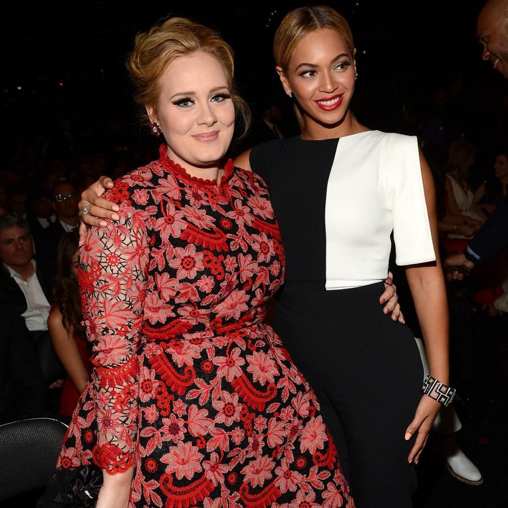 Adele recreó uno de los looks de 'Black Is King' de Beyoncé