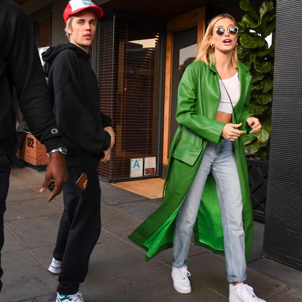 Hailey y Justin Bieber organizaron una fiesta ilegal en Los Ángeles