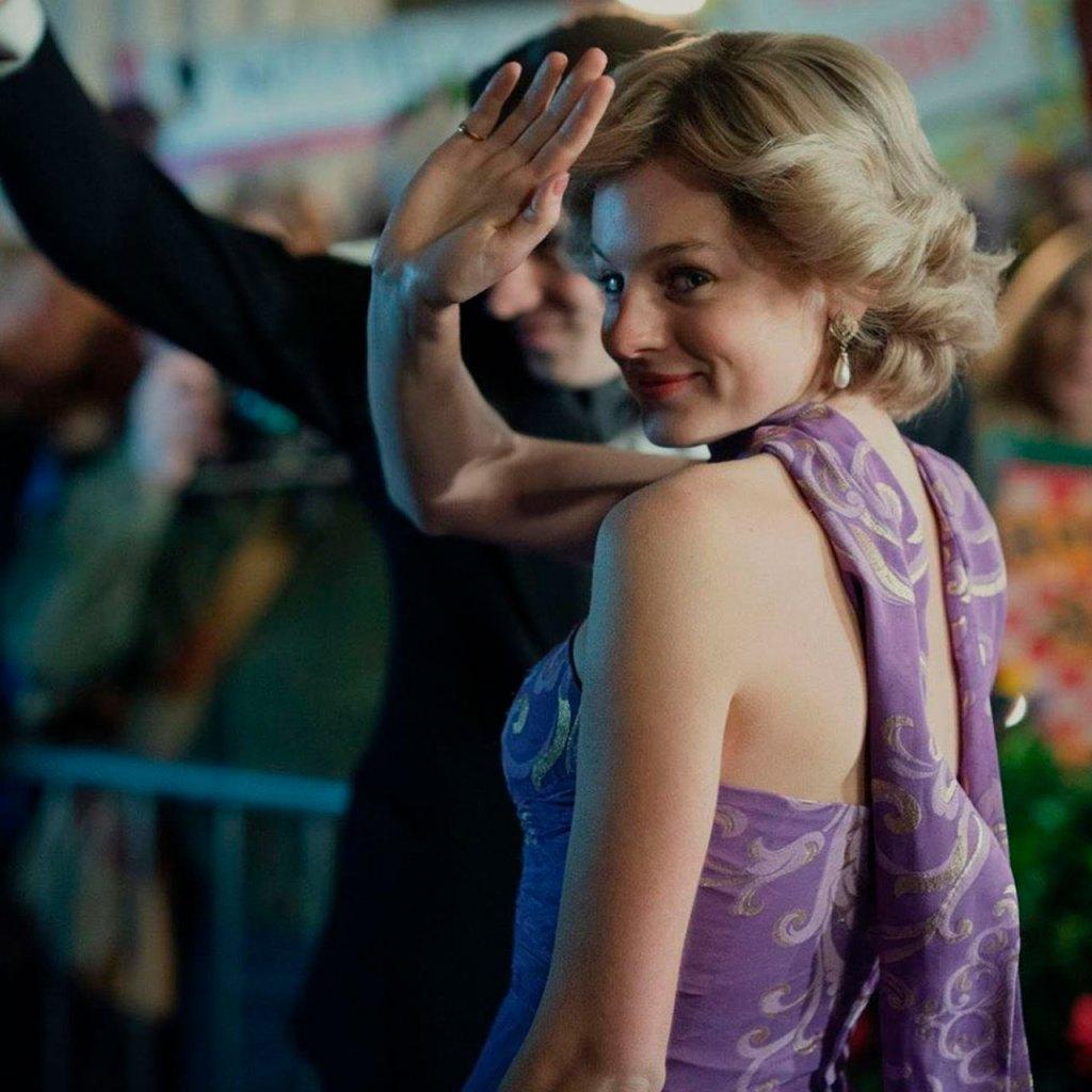 ¡Por fin! Las imágenes de Emma Corrin como Lady Di en The Crown