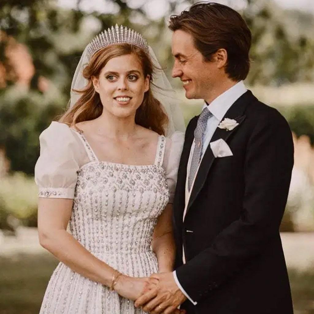 El vestido de novia de la princesa Beatrice (prestado por la reina) estará en exhibición