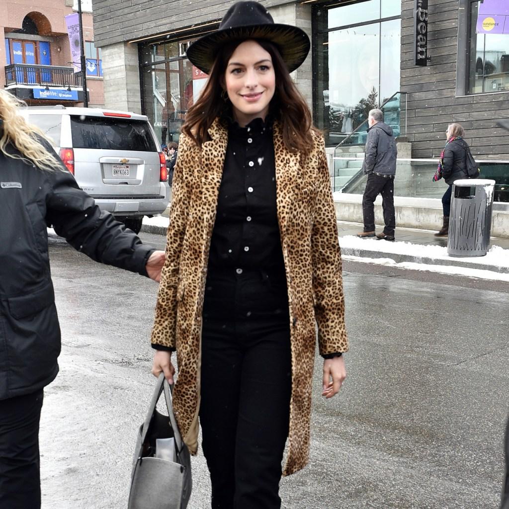 Anne Hathaway finalmente reveló el nombre de su segundo bebé