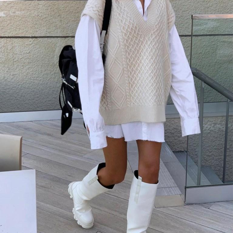 Cómo llevar over the knee boots como la llevan las street stylers