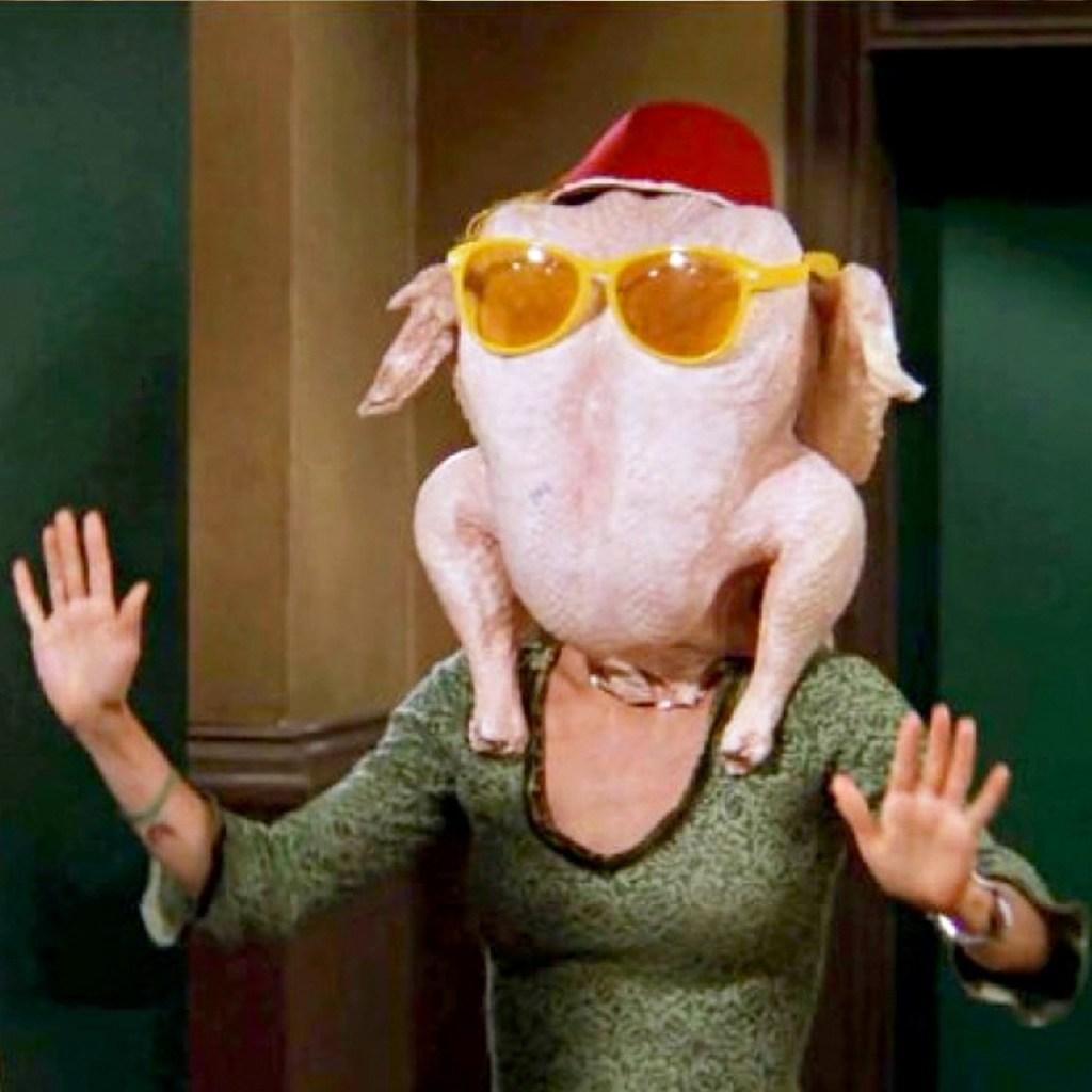 Courteney Cox recreó un momento icónico de Friends para Thanksgiving
