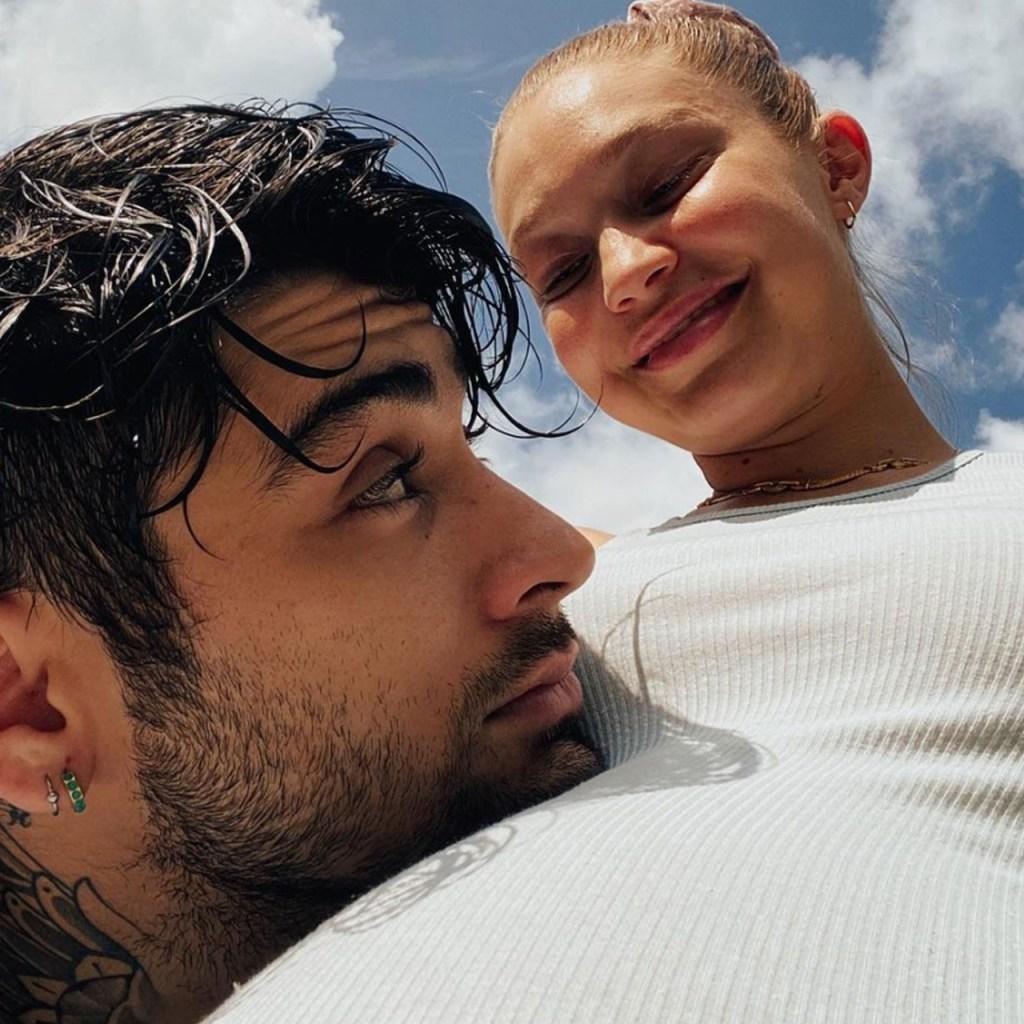 Gigi Hadid compartió fotos no vistas de Zayn en su etapa de papá