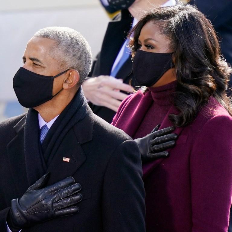 Michelle Obama usó Fenty Beauty y Glossier el día de la inauguración
