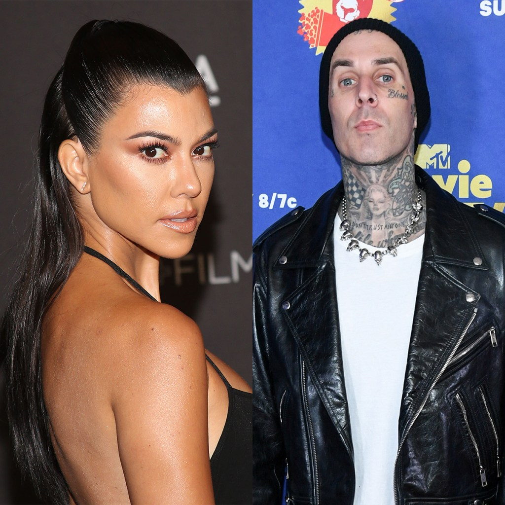 Al parecer, Kourtney Kardashian y Travis Baker (de Blink 182) están saliendo