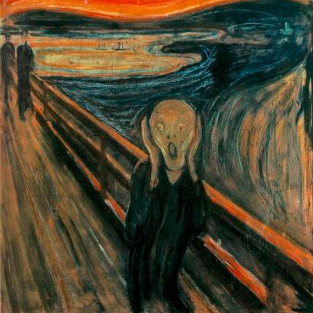 La pintura de 'El Grito' tiene un mensaje oculto escrito por Edvard Munch