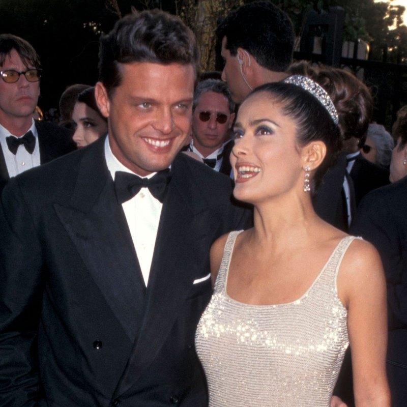 La noche que Luis Miguel fue la date de Salma Hayek en los Oscar