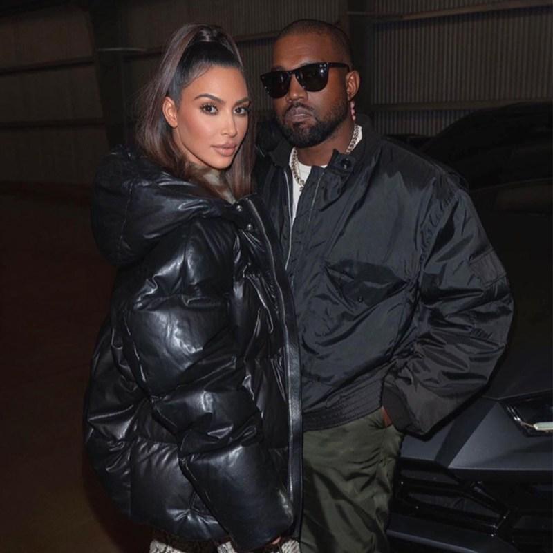 Kanye finalmente responde a la petición de divorcio de Kim Kardashian