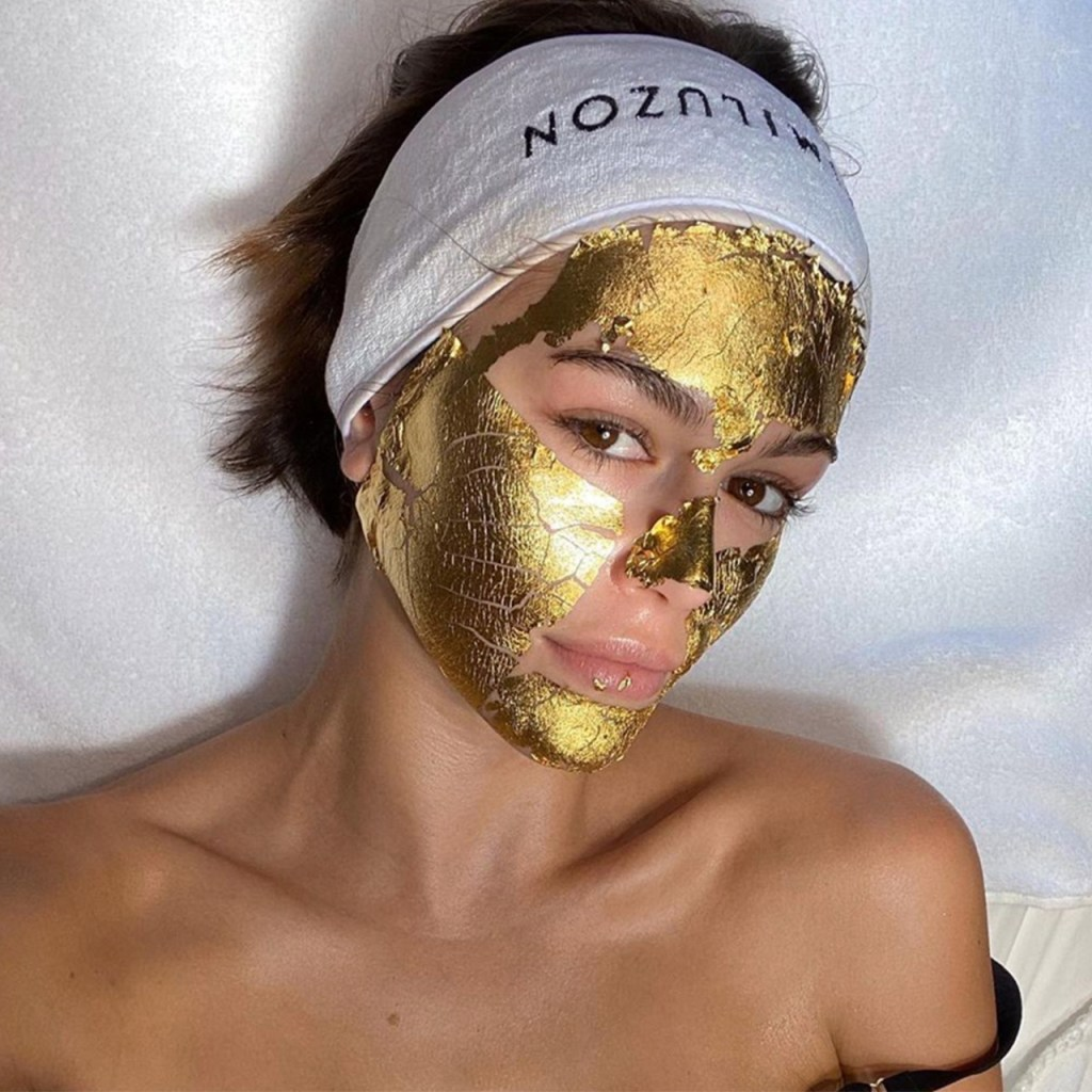 Kaia Gerber e Irina Shayk apuestan por usar oro en el skincare, ¿vale la pena o es puro hype?