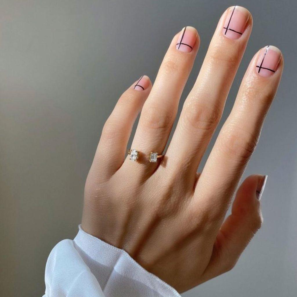 Nail art minimalista: inspiración para saber cómo llevarlo en las uñas