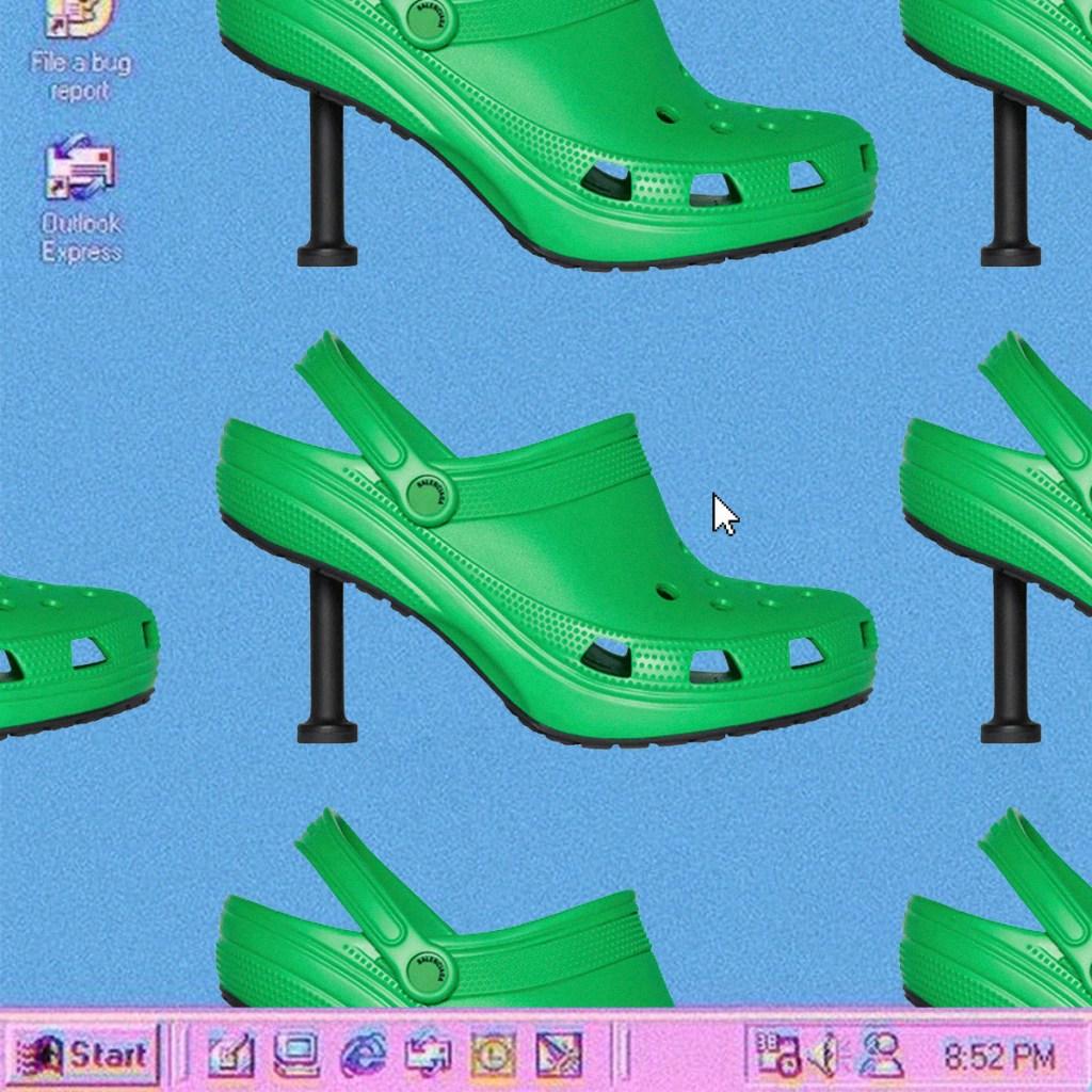 Crocs con tacón y 4 tendencias nunca vamos a entender