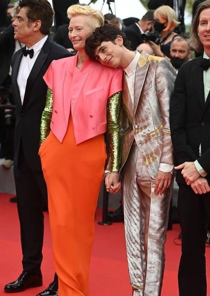 Timothée Chalamet en Cannes