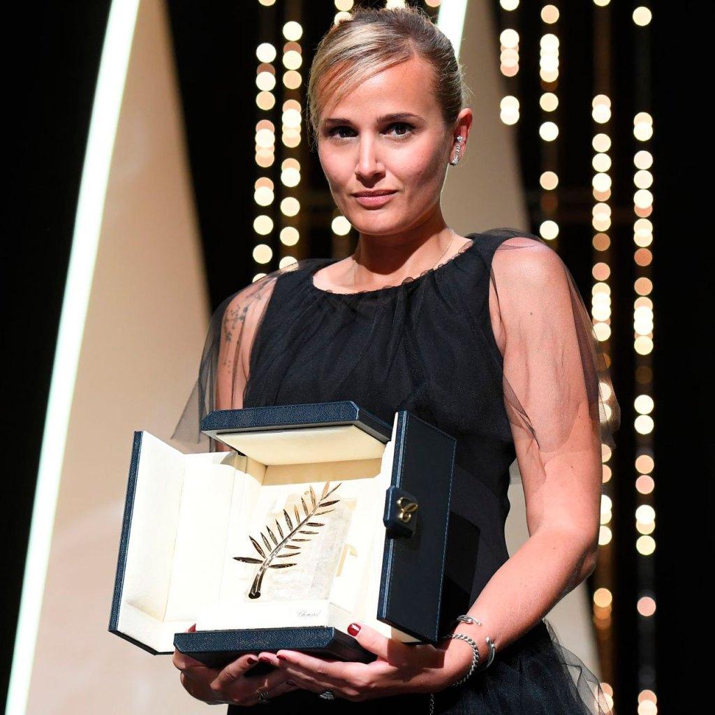 Ella es la segunda mujer en ganar la Palma de Oro del Festival de Cannes