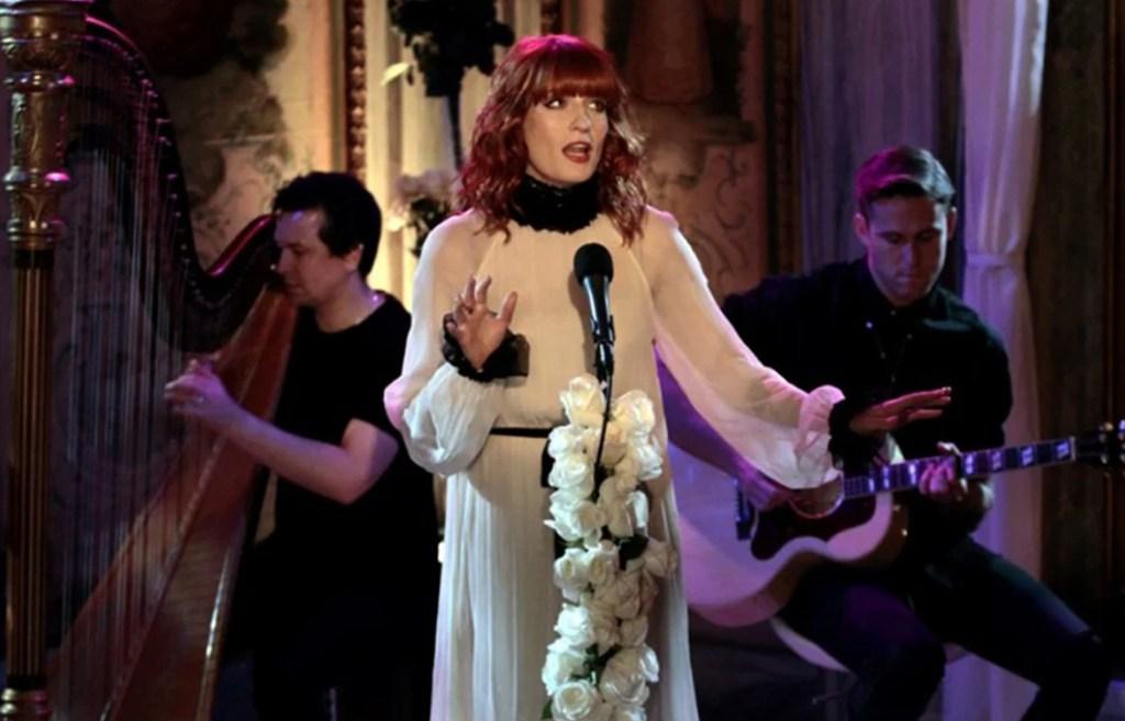 Florence Welch en Gossip girl