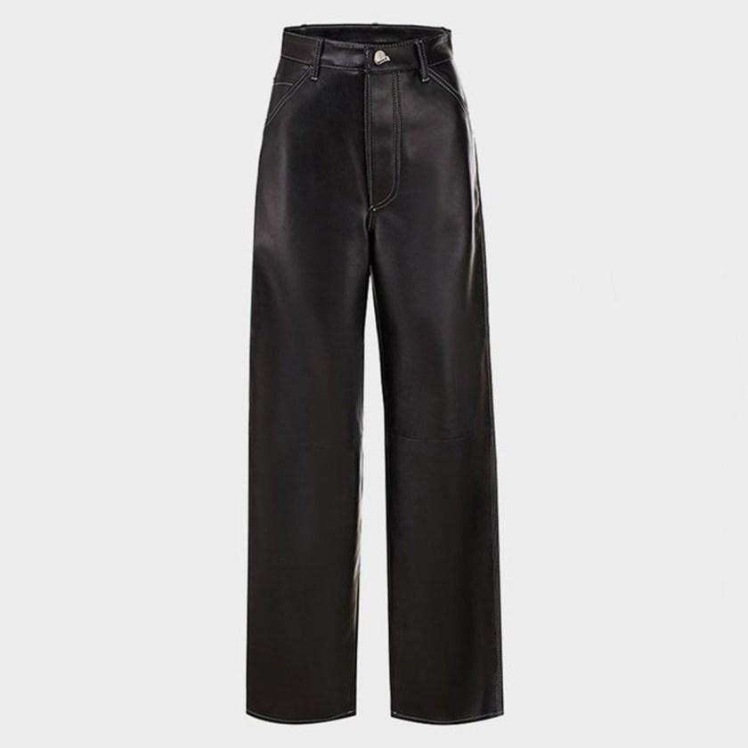 cropped pants de piel