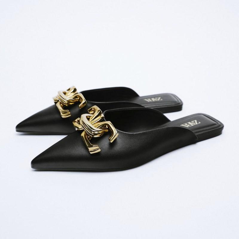 zapatos planos de Zara