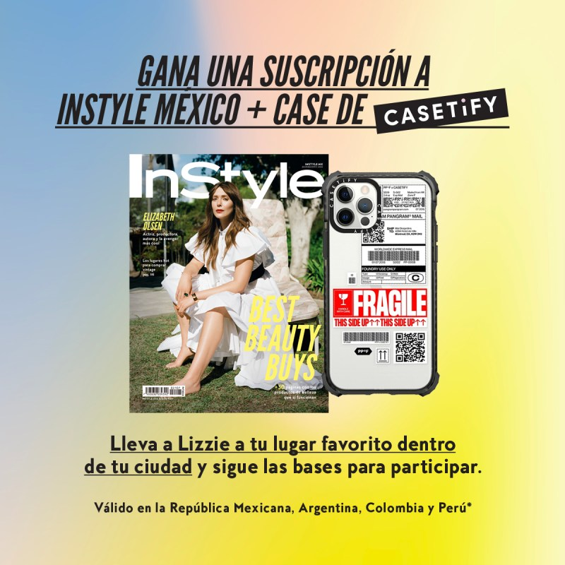 Lizzie Olsen e InStyle México te regalan una suscripción y un case para tu celular