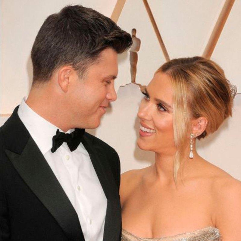 Scarlett Johansson y Colin Jost ya le dieron la bienvenida a su nuevo bebé