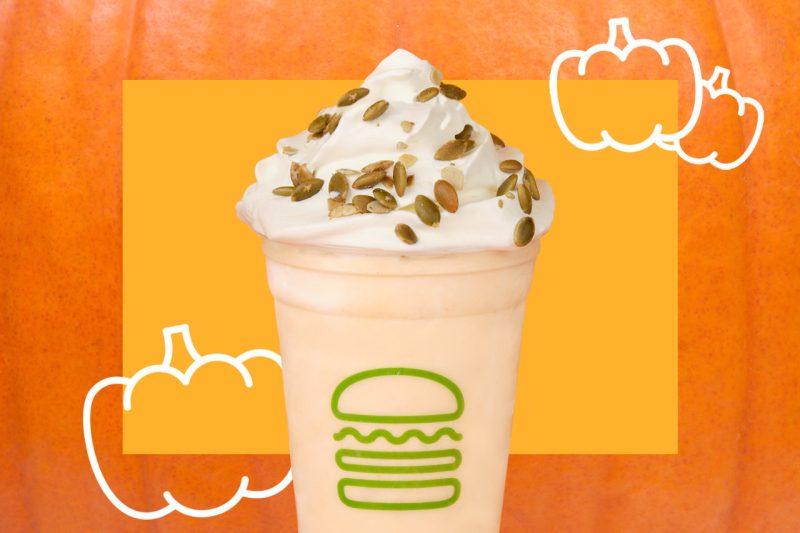 malteada otoño shake shack