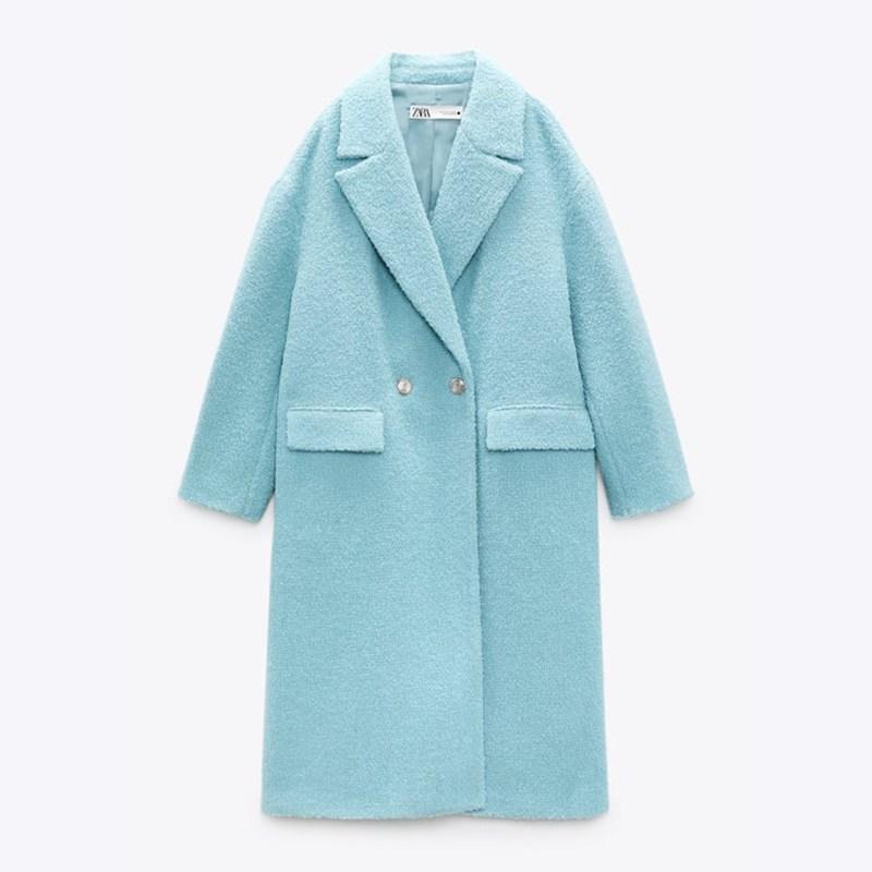 Must de Zara abrigo azul