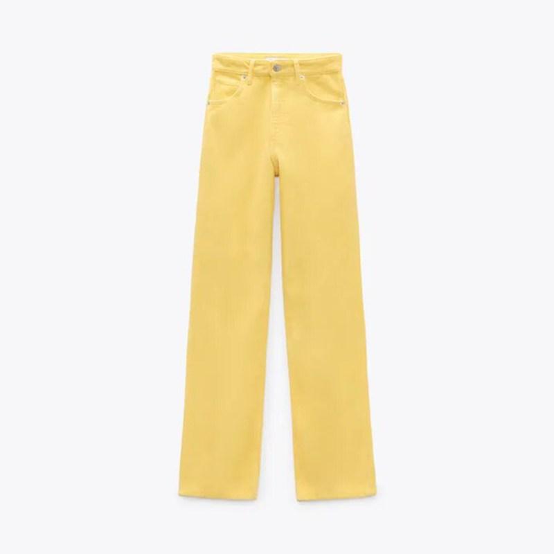 Must de Zara pantalón pana amarillo