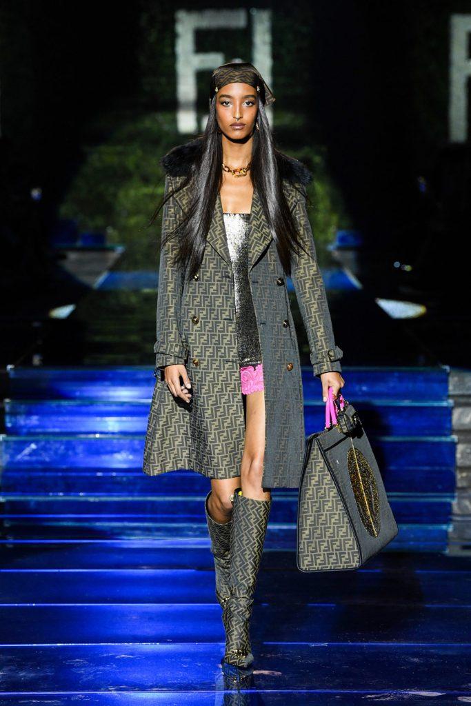 Look 1 Fendi by Versace