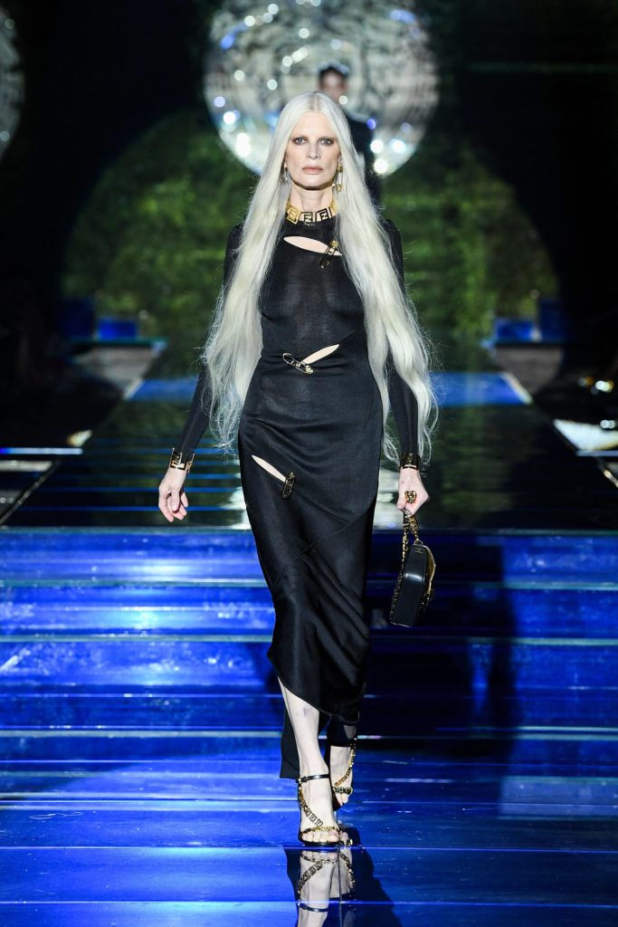 Look 1 Versace by Fendi
